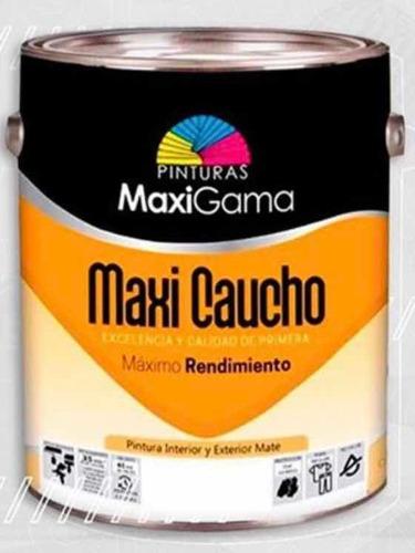 Imagen 1 de 4 de Pintura Gris Cemento Caucho Maxi Gama Galón