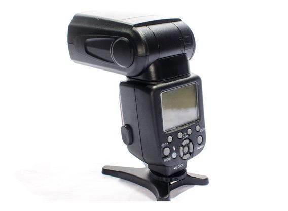 Flash Triopo Ttl Para Canon