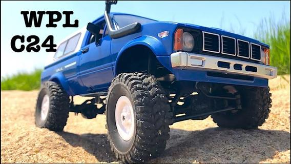 Wpl Rc Car Buggy Azul 4x4 Escala 1/16 Recarregavel Promoção