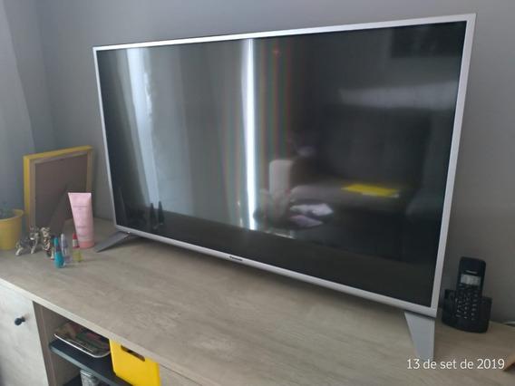 Tv Panasonic 43 Fhd Led Lcd Prata Smart