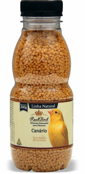 Realbird Racao Extrusada Natural Super Premium Para Canário