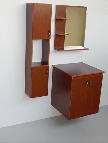 Muebles Modulares Melamina Para Baños Mod. Mb2a-a25ac2