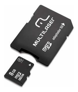 Cartão De Memória Multilaser Micro Sd 8gb