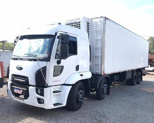 Imagem 1 de 14 de Ford Cargo 2429 Báu Gancheira Refrigerado