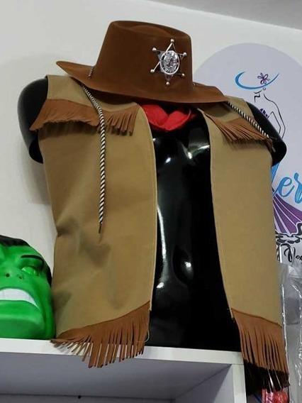 Disfraz De Vaquera Y De Vaquero. Miraflores