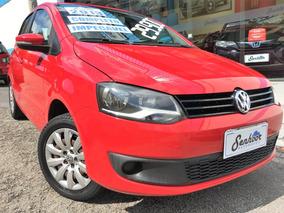 Volkswagen Fox Trend 1.0 Flex 2013 - Vermelho