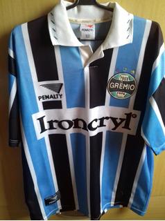 Camisa Original Gremio 1996 Escudo Brasileiro Renner Penalty