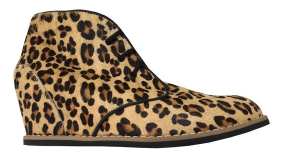 Zapatos Skechers Piel Leopardo