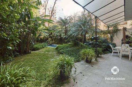 Imagen 1 de 30 de Quintana 260, Pb - Recoleta (amoblado Y Equipado Con Jardín Y Pileta)