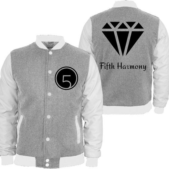 Casaco Moletom Fifth Harmony College Blusa Moleton Girlband