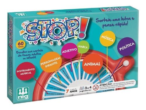 Imagem 1 de 2 de Jogo Stop! 0162 - Nig Brinquedos