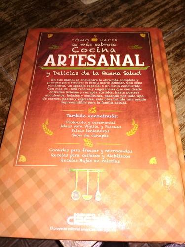 Imagen 1 de 2 de Libro De Cocina Artesanal