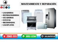 Reparación De Lavadoras, Secadoras, Refrigeradoras, Estufas