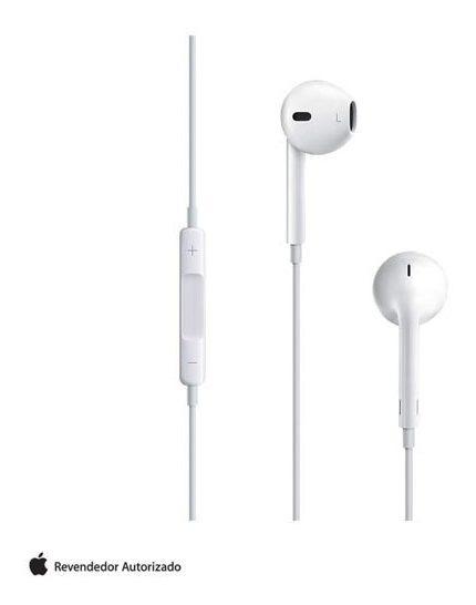 Fone De Ouvido Earpods Controle Remoto Apple - Md827bza