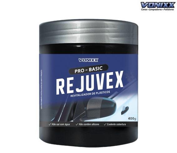Revitalizador De Plasticos Rejuvex 400g Vonixx Restaurador