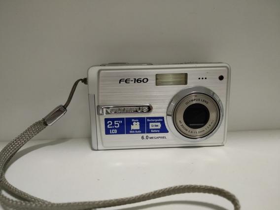 Máquina Fotográfica Digital Olympus 06 Megapixel Fe-160