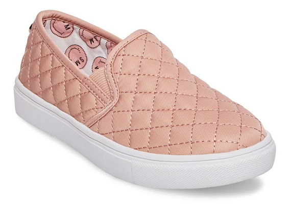 Sneakers Steve Madden Niña Rose Gold Nuevos Originales 8 Usa