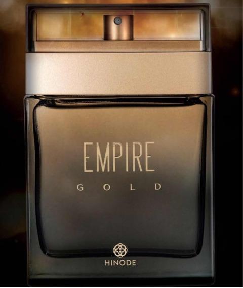 Perfume Empire Gold Masculino Hinode Ótima Fragância