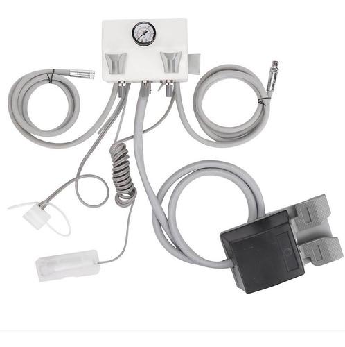Trimodular Dental Portátil, Micromotor - Compresor