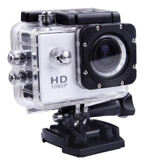 Câmera Digital Hd Sports Tela Lcd Case Prova D