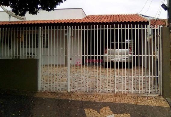 Casa Residencial À Venda, Jardim João Paulo Ii, Sumaré. - Ca0698