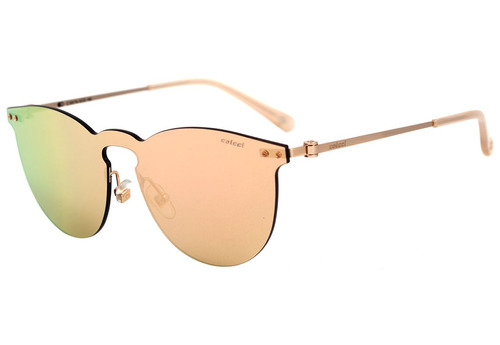 7e6f2ac23 Colcci C0076 - Óculos De Sol Dourado E Creme/ Rosê Espelhado - R ...