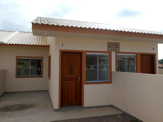 Casa Geminada Em Obras - Jardins 1 - Palhoça - Ca2314
