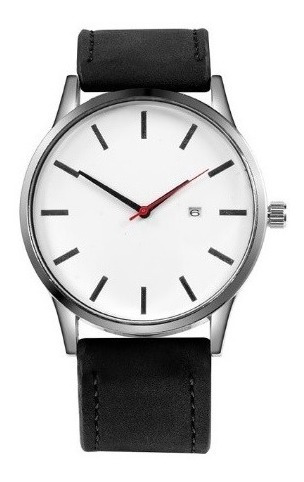 Relógio Branco - Homem Casual