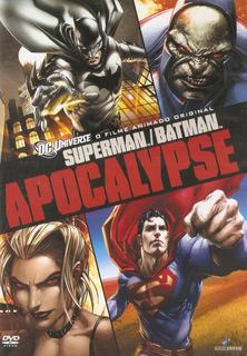 Dvd Superman/batman - Apocalypse - Novo***
