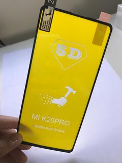 20x Pelicula 5d Nano Gel Xiaomi Tela Toda Atacado