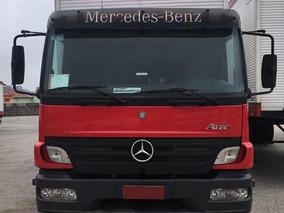 Mercedes Mb 2425 6x2 2009 Atego Bau Plataform Vw/volvo/iveco