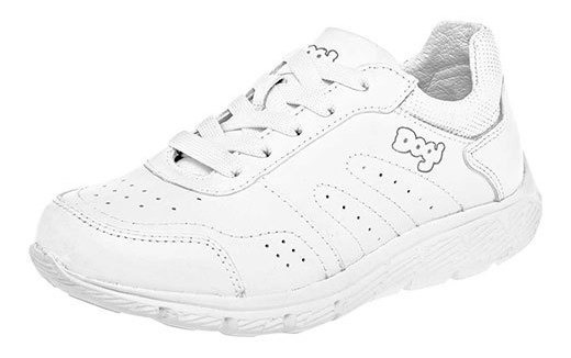 Dogi Sneaker Deportivo Piel Niño Blanco N41987 Udt