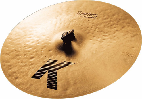 Platillo Zildjian K Dark Thin Crash 17 Pulgadas K0903