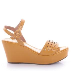 Sandália 0401 Verniz Amarelo