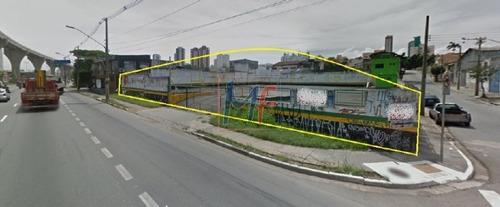 Imagem 1 de 1 de Ref 8617 - Terreno Para Venda No Bairro Vila Prudente Com 1.317 M² Zoneamento Zeu. Não Aceita Permutas! - 8617