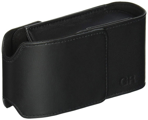 Ricoh Gc-5 Leather Case For Gr Digital Camera (black)