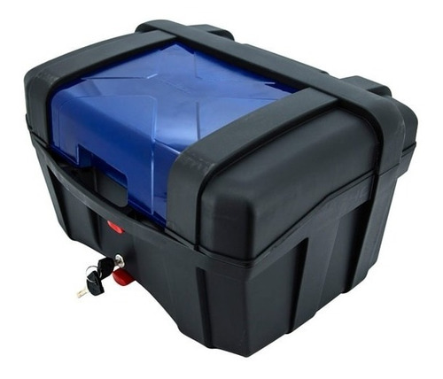 Baul Moto Tomcat 40 Litros Color Azul. Dim