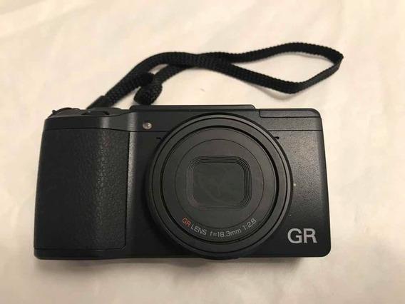 Camera Ricoh Gr Ii, Wifi, Como Nova, Bateria Extra, Em 12x