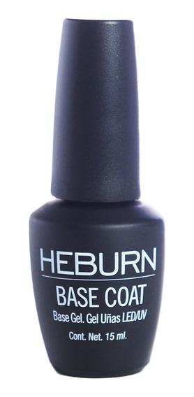 Heburn Esmalte Base Coat Manicuria Semipermanente Gel