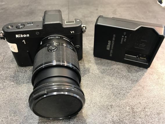Nikon V1 + Lente 10-100mm Vr Impecable!!!!