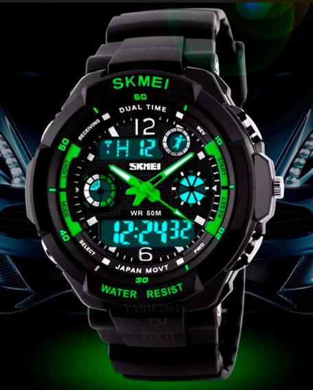 Relógio Barato Masculino Skmei Mod. 0931 A Prova D´àgua