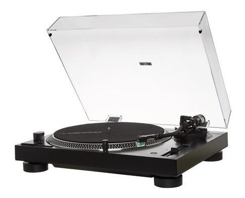 Toca Discos Audio Technica At-lp120x Usb - Lancamento -preta
