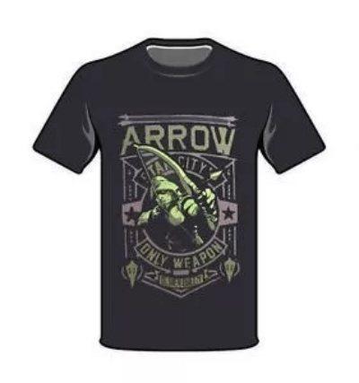Playera Funko Arrow - Dc Comics - Excl. Legion Of Collectors
