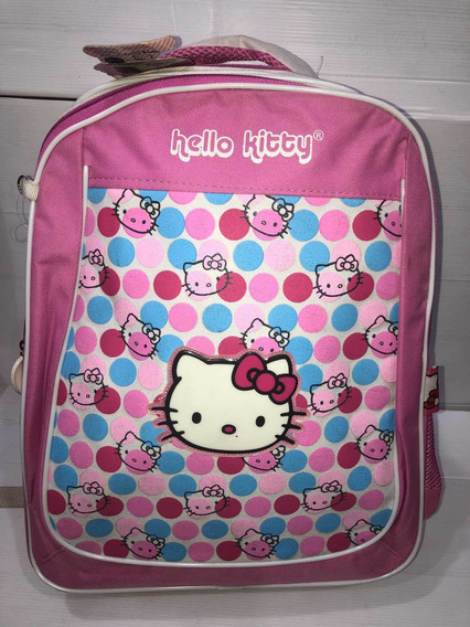 Mochila Hello Kitty Hombro 18 Duendes Y Princesas