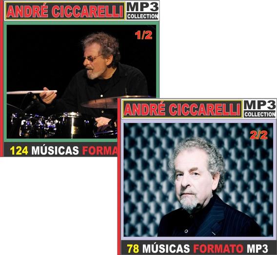 André Ceccarrelli Discografia 16 Cd Com 202 Músicas