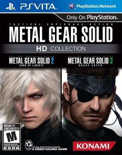 Colección Hd De Metal Gear Solid