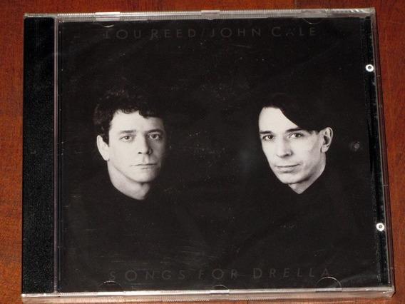 Lou Reed/john Cale Songs For Drella Cd Nuevo Importado