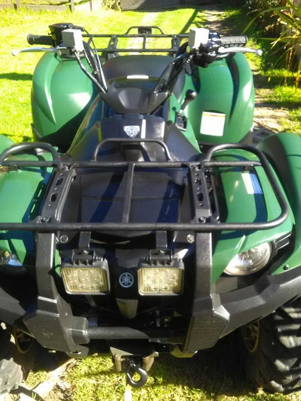 Yamaha 550cc 4x4 Grizzly 2017 - 4000 Km Malacate Luces Led