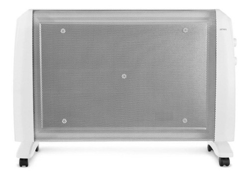 Calefactor Radiador Eléctrico Atma Atrm2021p 2 Niveles 2000w