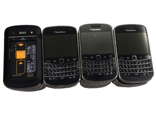 Lote Blackberry Varios Modelos 56 Un. No Estado